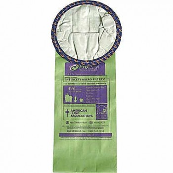 ProTeam OCC 100431 Super Quarter Replacement Bags 10 Per Pack