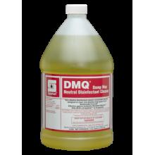 Spartan 106204 DMQ Lemon Scent Quat Neutral Disinfectant Cleaner HIV 1:64 4-1 Gallons Per Case