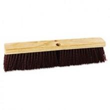 BRU 20336 Push Broom Red Plastic 36 Inch
