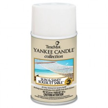 TMS 812400TMCACT Sand & Sun Metered Air Fresheners Yankee Candle Collection 6.6 oz 12 Per Case