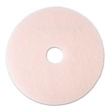 MMM 25858 20 Inch Pink Eraser Burnishing Floor Pad 5 Per Case