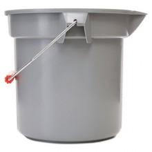 RC P261400GY  Gray 14 Quart Bucket W/Pour Spout