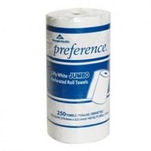 GPC 27700 Household Perforated Roll Towel 2-Ply 250 Sheets Per Roll 12 Rolls Per Case