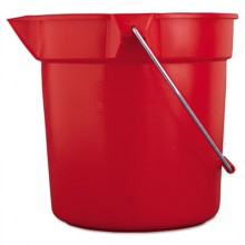RCP 2963RED Brute RED 10 Quart Bucket