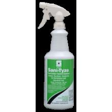 SPA 319503Sani-Tyze Contact Surface Sanitizer RTU 12/32oz w/3 Trigger Sprayers Per Case