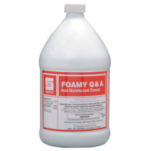 Spartan 320204 Q&A Foamy Lime Remover Dilution 1:10 4 Gallons Per Case