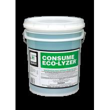 Spartan 329705 Consume Eco-Lyzer Cleaner - Disinfectant - Deodorizer 1:64 5 Gallon Per Pail
