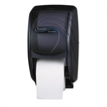 SJM R3590TBK Oceans Duett Toilet Tissue Dispenser Black Per Each