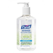 GOJO 369112CT PURELL Green Certified Instant Hand Sanitizer 12-12oz Pump Bottles Per Case