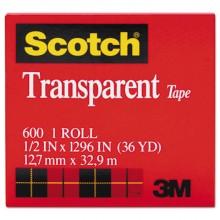 3M 600 3/4IN x 1296IN Scotch Tape Per Roll