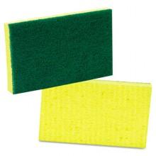 MMM 74 Medium Duty Scrub Sponge 3.5IN x 6.25IN 20 Sponges Per Case