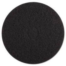 BKW 4017 BLA 17 Inch Black Stripping Floorpad 5/case