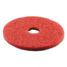 BWK 4017 RED 17 Inch Red Spray Buff Floor Pad 5/Case