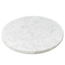 BWK 4020NAT 20 Inch Ultra High Speed Natural Burnishing/Buffing Floor Pads 5 Per Case
