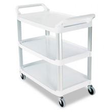 RCP 409100CM 3-Shelf Utility Cart Off White Per Each