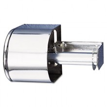 SJM R1500XCCovered Chrome Toilet Tissue Dispenser Double Roll