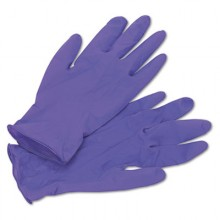 KCC 55082 Purple Nitrile Exam Gloves Medium Textured Powder Free 6 Mils Thick 9.5IN Length 100 Per Bo