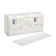 SCA MB576/WAU 04420 Premium Multi-Fold 10.9 IN x 10.1 IN Multifold White Towels 2160 Towels Per Case
