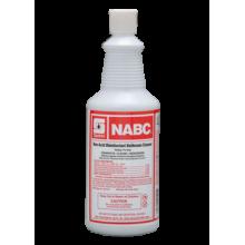 Spartan 711603 NABC Non-Acid Disinfectant Total Bathroom Cleaner And Bowl Cleaner 12-Quarts Per Case