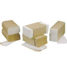 SCA 75000252 C-Fold Bleached Towels 10.25 IN x 13 IN 2400 Towels Per Case