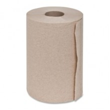 SCA 75000257 Brown Dispenser Roll Towel 2 Inch Center Core 7 7/8IN x 350FT 12 Rolls/Case