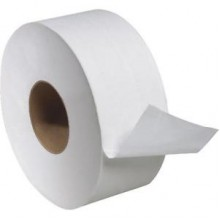 SCA TJ0922A Junior Jumbo 2 Ply Toilet Tissue 3.6IN x1000FT 3.3IN Core 12 Rolls Per Case