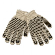 BWK 792 String Knit Dotted Glove Large - Dozen