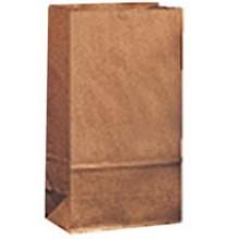 DRO 18402 2lb Brown Bags 4-5/16X2-7/16X7-7/8 500 Bags Per Bale
