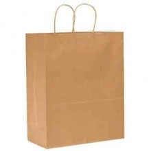 DRO 8462113 x 7 x 17 Brown Supr Mart/Filly Shopping Bags 65LB 250 Per Case
