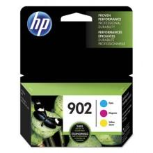 HEW T0A38AN HP 902, (T0A38AN) 3-pack Cyan/Magenta/Yellow Original Ink Cartridges