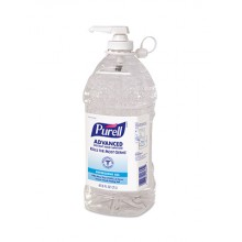 GOJO 962504EA Purell Instant Hand Sanitizer 2 Liter Pump Bottle Per Each