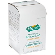 GOJO 9757-12 Micrell Antibacterial Hand Soap 12/800ml Per CAse