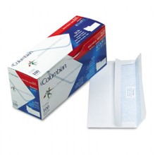 QUA CO284 #10 Security Tint Self Seal Envelopes 100 Per Box