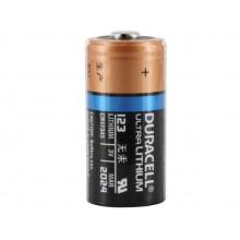 Duracell DL123A Ultra Lithum CR123 Battery 6 Batteries Per Case