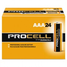 DUR PC2400BKD Procell AAA Alkaline Batteries 24 Per Pack