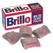 PUX W240000 Brillo Steel Wool Soap Pad 10/Box Per Box
