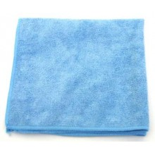 CPI MCLOTH300B HD Microfiber Cloth Glass Cleaning 16 inch x 16 Inch Color Blue 12 Wipes Per Pack
