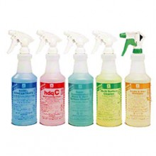 Spartan 924700 Clean On The Go Clean By Peroxy Printed Spray Bottles & Trigger Sprayers 12 Per Case