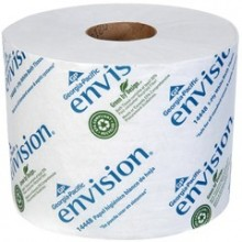 GPC 1444801 1 Ply Toilet Tissue 1500 Sheets 3.950 Inch x 4.050 Inch 48 Rolls Per Case