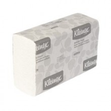 KCC 01890 9.3IN x 9.4IN White Multifold Towels 2400 Towels Per Case