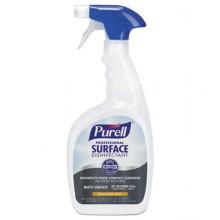 GOJ 334212 GOJO Professional Surface Disinfectant Fresh Citrus 32 oz Spray Bottle 12 Per Case