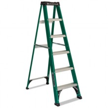 DAD FS4006  Stepladder 6 Foot Commercial Green/Black Per Each
