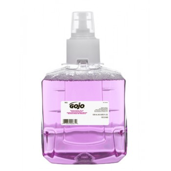 GOJO 191202CT LTX-12 Antibacterial Plum Foam Handwash (2776 Uses) 2/1200ML Per Case