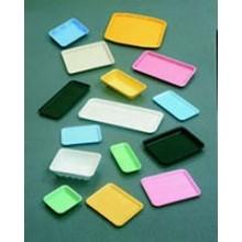 CKF TF1017S Foam Trays 8-3/8IN x 4-3/4IN x 5/8IN 1000 Trays Per Case