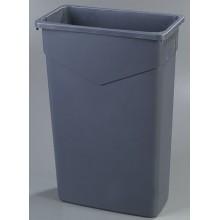 CFS 34202323 Carlisle TrimLine Gray Waste Receptacle 23 Gallon Per Each