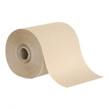 GPC 19724 Brown Dispenser Roll Towels 7 7/8IN x 450FT 12 Rolls Per Case