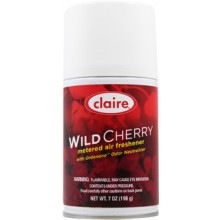 Claire C-107 Wild Cherry Metered Air Freshener 7 oz 12 Per Case