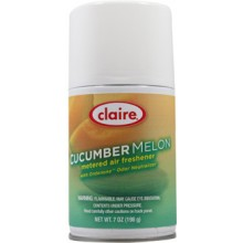 Claire C-109 Cucumber Melon Metered Air Freshener 7 oz 12 Per Case