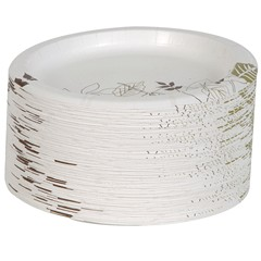 Heavyweight 9 Inch Coated Plate  sc 1 st  RFV Sales Inc. & SXP9 PATH 9 Inch Heavy Plastic Coated Paper Plates 500 Per Case
